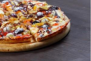 Пицца фруктовая Валентинка