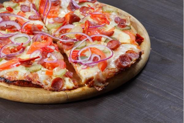 Пицца Барбекю острая