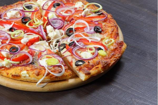 Пицца Греческая вегетарианская